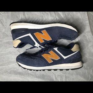 New Balance 574 men's Navy sneakers